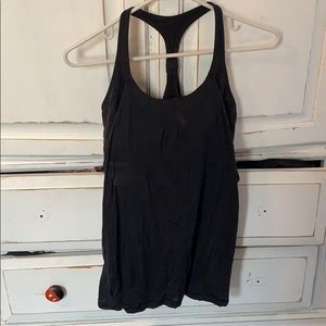 Lululemon tank backless